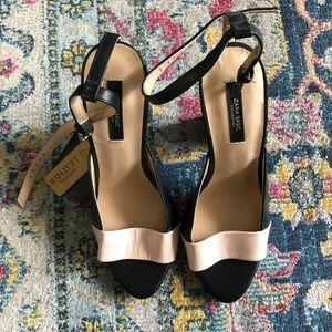 Zara Colorblock Heel